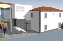 Edificio de Comércio e Serviços – Av. 29 de Agosto, Terrugem (2012)
